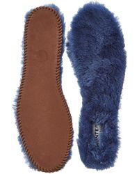 Hunter Luxury Shearling Insoles blue - Lyst