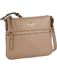 Kate Spade Tenley Leather Crossbody Bag - Lyst