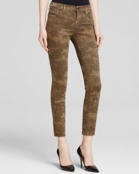 J Brand Jeans - Photo Ready Mid Rise Cropped Skinny In Camo - Lyst