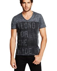 Guess Along For The Ride Graphic T Shirt - Lyst