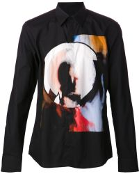 Givenchy Abstract Graphic Shirt - Lyst