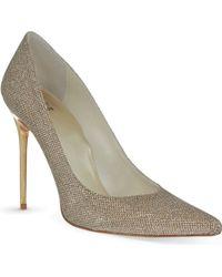 Stuart Weitzman Nouveau Glittered Court Shoes - For Women - Lyst