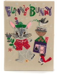 Olympia Le-Tan Funny Bunny Clutch - Lyst