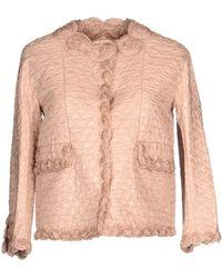 Ermanno Scervino Jacket khaki - Lyst