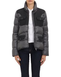 Moncler Combo Quilted Down Jacket - Lyst