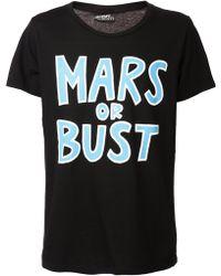 Jeremy Scott Mars Or Bust Tshirt - Lyst