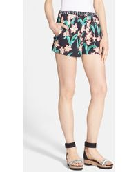 Clover Canyon - 'floral Sunrise' Shorts - Lyst