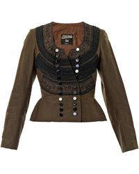 Jean Paul Gaultier - Embroidered Jacket - Lyst