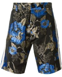 Christian Pellizzari - Floral Jacquard Shorts - Lyst