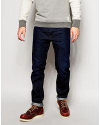 Diesel Jeans Buster Regular Slim Fit 823K Dark Rinse Wash - Lyst