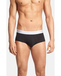 CALVIN KLEIN 205W39NYC - 'superior' Cotton Blend Briefs - Lyst
