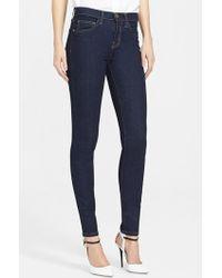 Current/Elliott 'The High Waist' Skinny Jeans - Lyst