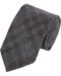 Luciano Barbera - Men's Plaid Neck Tie - Lyst