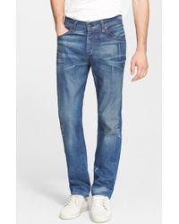 Rag & Bone Men'S 'Fit 3' Slim Straight Leg Jeans - Lyst
