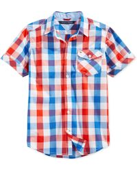 Tommy Hilfiger Boys' Asher Check Shirt multicolor - Lyst