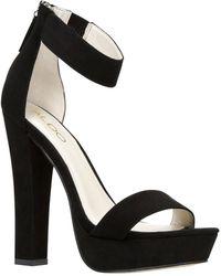 Aldo Fifi Ankle Strap Heel Sandals - Lyst