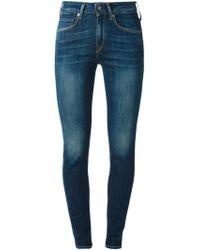 Levi's Empire Skinny Mid-Rise Stretch-Denim Jeans - Lyst