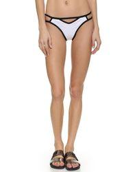DEL MAR - Area Cutout Bikini Bottoms - Lyst