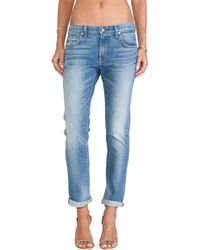 7 For All Mankind Relaxed Skinny - Lyst