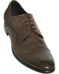 Dolce & Gabbana Napoli Shaded Calf Derby Lace Up Shoes - Lyst