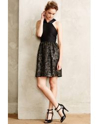4.collective Black Atley Dress - Lyst