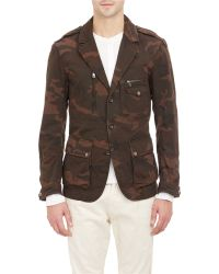 Ralph Lauren Black Label Camouflage Jacket - Lyst