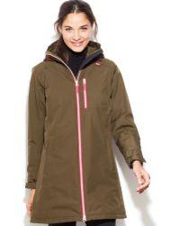 Helly Hansen Long Belfast Hooded Raincoat - Lyst