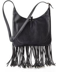 Hermès Black Fringe Hobo - Lyst