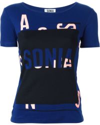 Sonia By Sonia Rykiel 'Mc Sonia' T-Shirt - Lyst