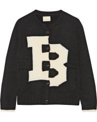 Band of Outsiders - Merino Wool-Blend And Bouclé Cardigan - Lyst