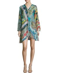 Johnny Was - Dreamy Long-sleeve Printed Tunic - Lyst