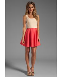 Blaque Label Dress in Coral - Lyst