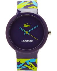 Lacoste Purple Ladies Watch - Lyst