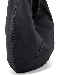 Bottega Veneta Cervo Large Hobo Bag Black - Lyst