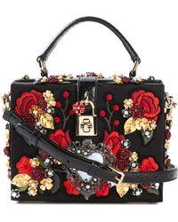 Dolce & Gabbana 'Dolce' Shoulder Bag black - Lyst