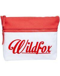 Wildfox White Label Wildfox Air Mail Clutch Bag - Lyst