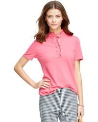 Brooks Brothers Short-Sleeve Slim Fit Polo Shirt - Lyst