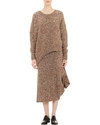 Stella McCartney Asymmetric Crewneck Sweater - Lyst