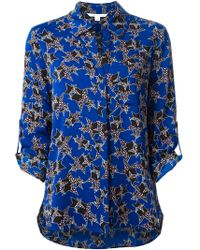 Diane Von Furstenberg Harlow Star Print Blouse - Lyst
