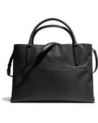 Coach The Large Soft Borough Bag in Nappa Leather - Lyst