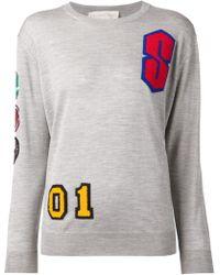 Stella McCartney Appliqué Sweater - Lyst