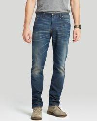 Raleigh Denim Jeans - Jones Slim Straight Fit In Camp - Lyst