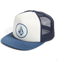 Volcom - 'keep Truckin' Trucker Hat - Lyst