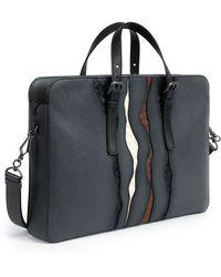 Bottega Veneta - Glimmer Intrecciato-Detail Briefcase - Lyst