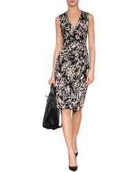 Etro Jersey Print Wrap Dress - Lyst