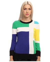 Kate Spade Blue Rylee Sweater - Lyst
