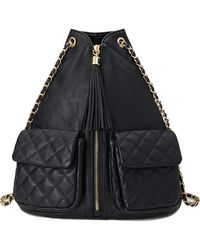 Forever 21 Chain Strap Zipfront Backpack - Lyst
