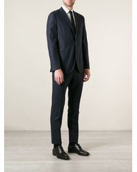 Boglioli Checked Slim Fit Suit - Lyst