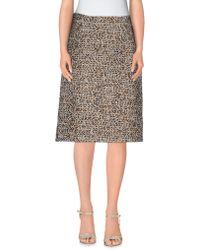 Max Mara Studio | Knee Length Skirt | Lyst