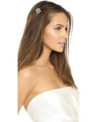 Lulu Frost - Atrium Hair Comb - Clear/silver - Lyst